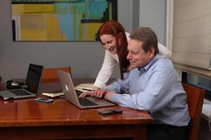 Lauren and Marty Weinberg