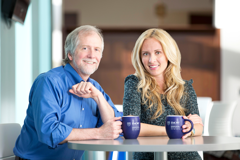 Patrick Noonan and Daria Makhoukova