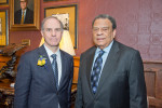 Andrew Serwer and Andrew Young