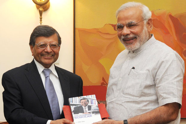 Sheth and Prime Minister Narendra Modi