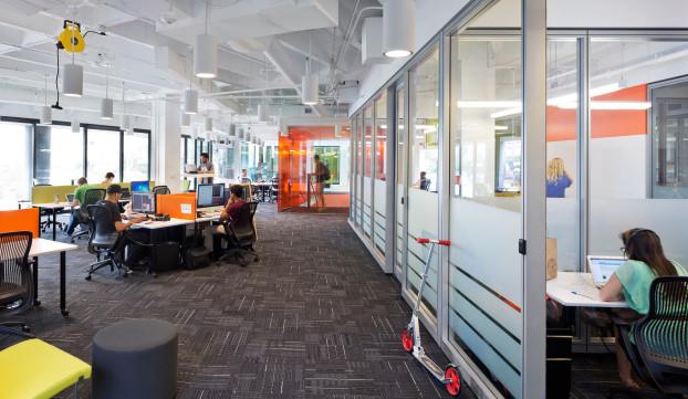 GenslerHIPAT_ATV second floor coworking loft and startup suites