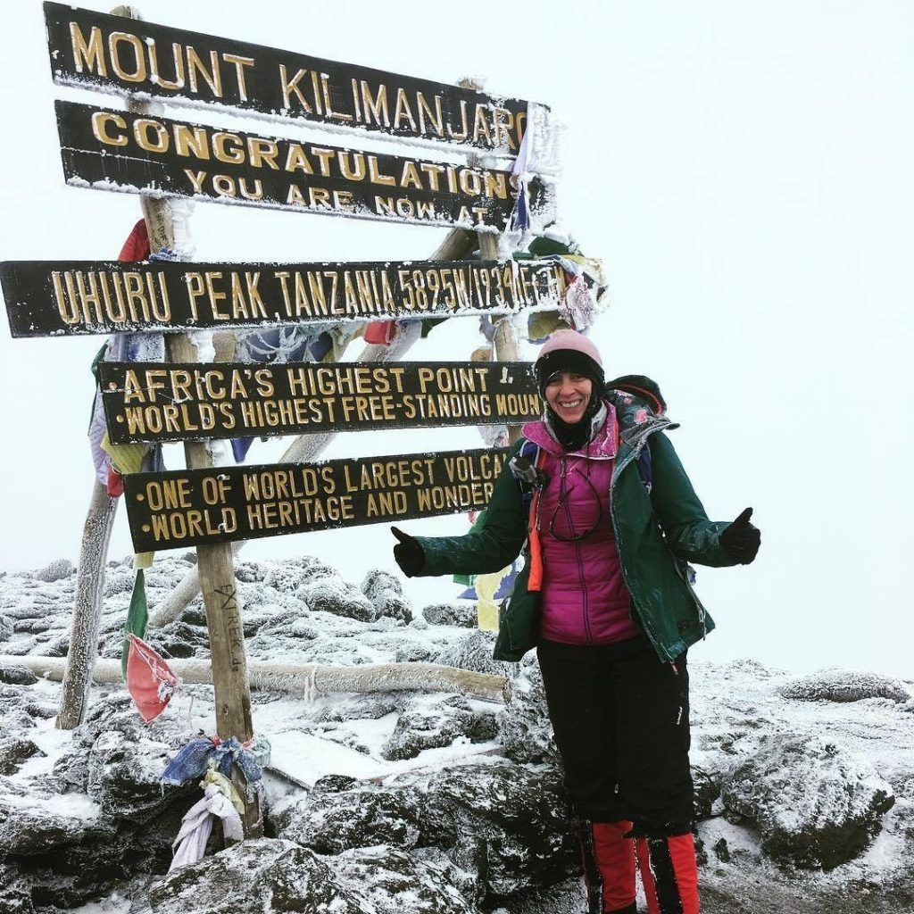 Jessica Wicks Mount Kilimanjaro