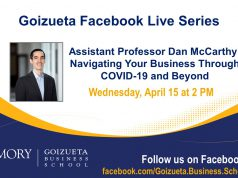 Assistant Professor Dan McCarthy on businesses navigating COVID-19