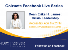 Dean Erika H. James Crisis Management Facebook Live