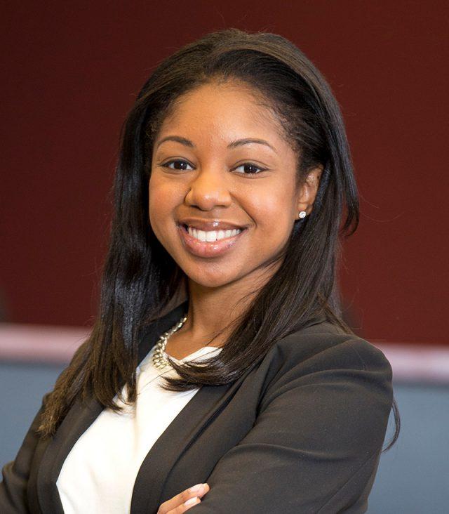 Erika Hall, assistant professor of organization & management