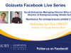 Goizueta Facebook Live Series: Resilience for entrepreneurs amidst COVID-19