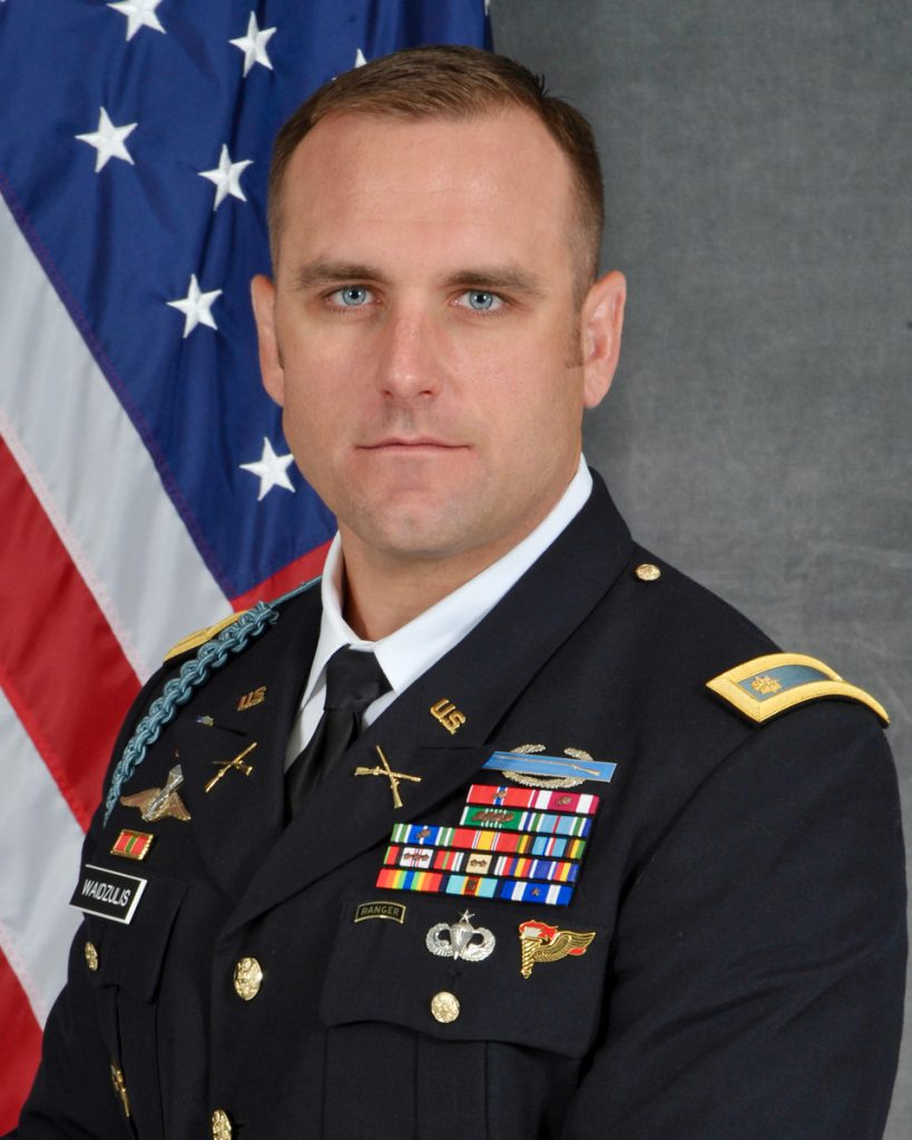 "Major Jason ""J"" Waidzulis 20MBA"