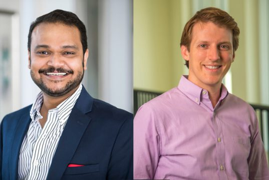 Chellappa and Goebel are 2020 recipients of Goizueta's highest service award