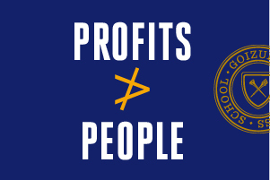 Goizueta Joins #StopHateforProfit Movement