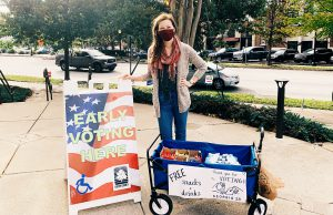 Evening MBA student helps build a voting coalition