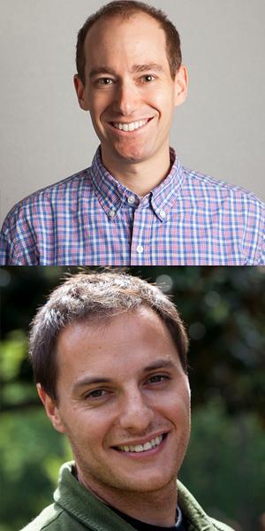 David Roemer 02BBA (top photo), Dan Costa 01BBA (bottom photo)