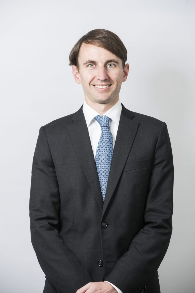 John Horten 11MBA, vice president of operations for Draper James