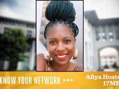Know Your Network: Afiya Hosten 17MBA