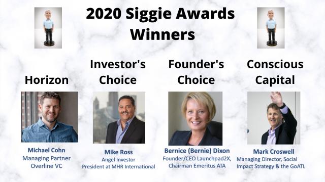 2020 Siggie Awards Winners