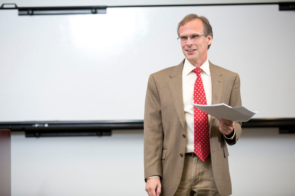 George Easton, associate professor of information systems & operations management