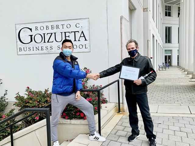 Business Analytics alumni team takes 6th place in international data challenge