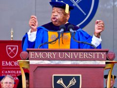 John R. Lewis speaking at Emory University