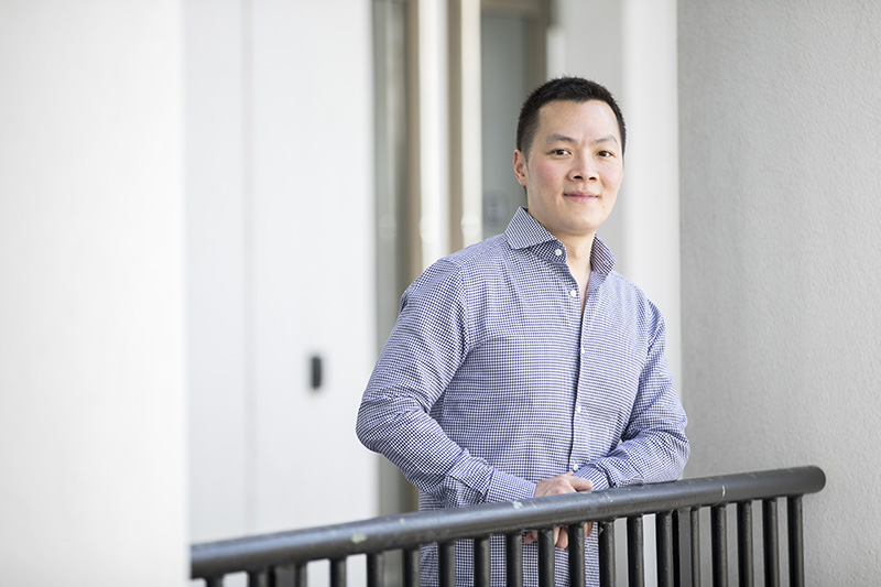 Donald Lee, associate professor of information systems and operations management and of biostatistics and bioinformatics