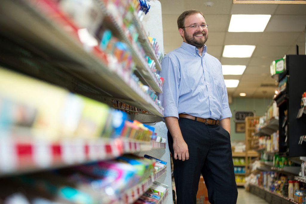 Ryan Hamilton, associate professor of marketing