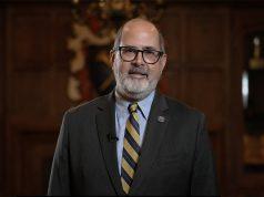 The J. Pollard Turman Alumni Service Award Goes to Dirk Brown 90MBA