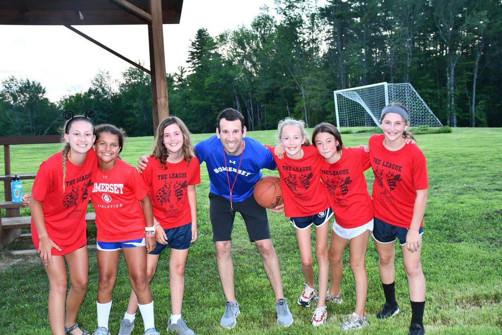 Josh Hahn 02BBA at Camp Somerset for Girls