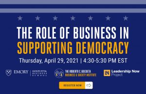 The Role of Business in Supporting Democracy