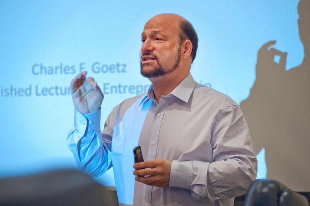 Charlie Goetz, senior lecturer in Organization & Management and distinguished lecturer in Entrepreneurship
