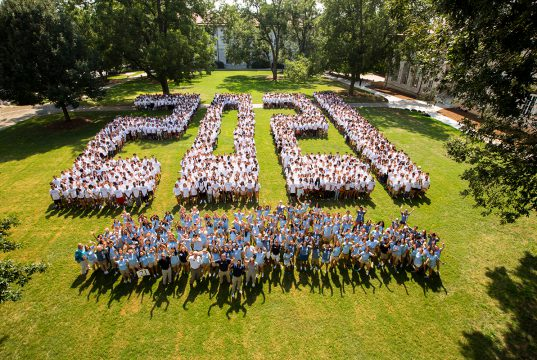Class of 2021 on the Quad