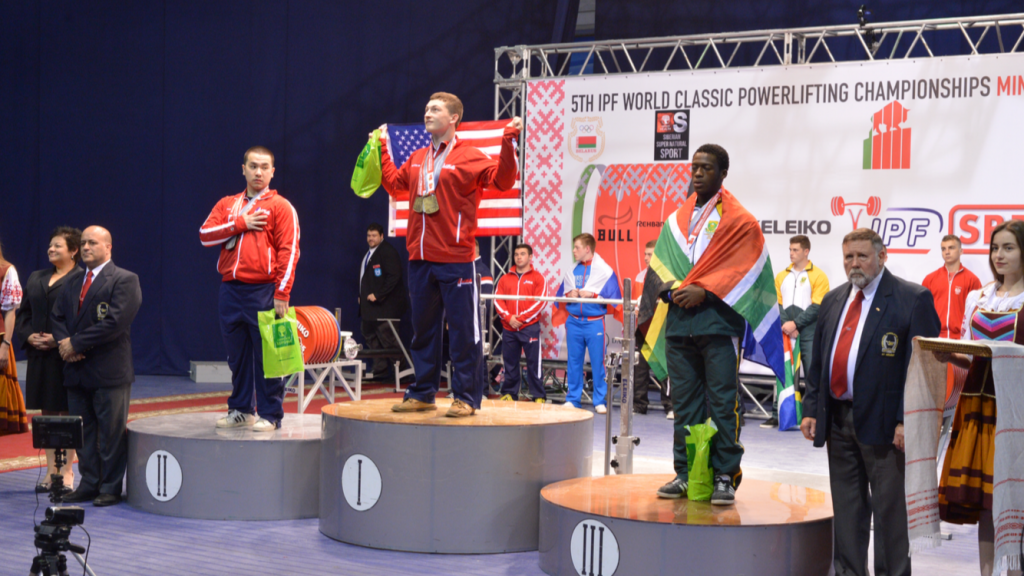 Matthew Jones wins gold medal at world tournament