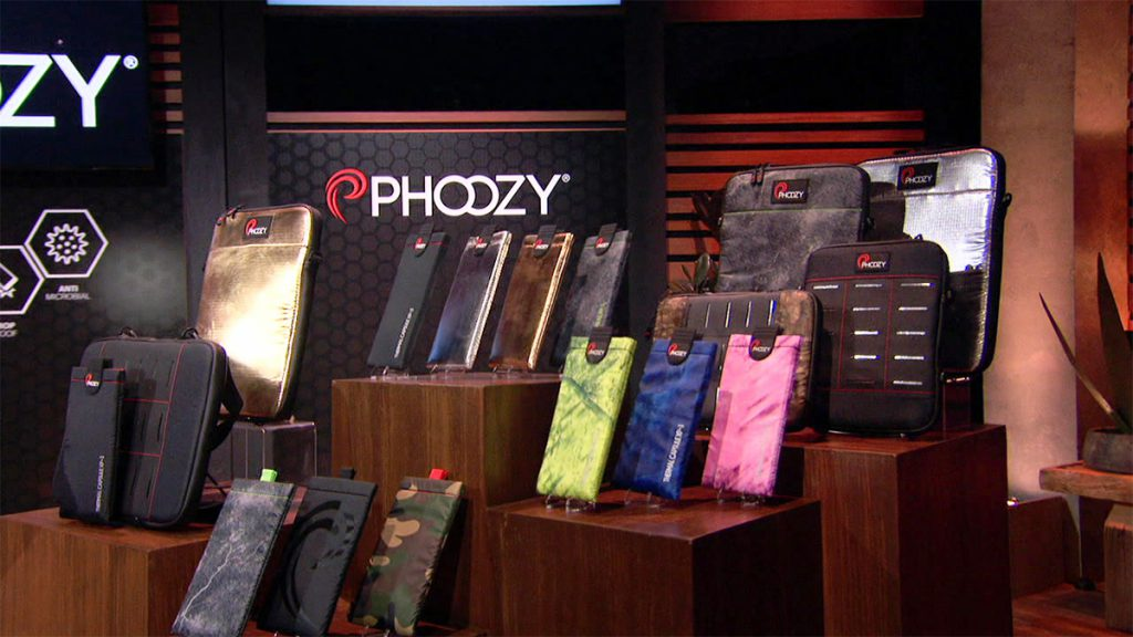 Assorted products from PHOOZY