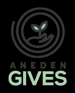 Aneden Gives Logo