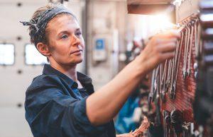 A blue-collar worker