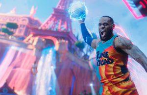 Lebron James holds an electric basketball