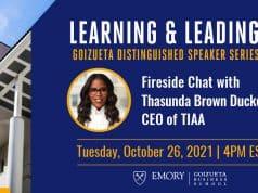 Goizueta Distinguished Speaker Series with Thasunda Brown Duckett