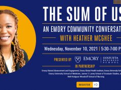 The Sum of Us: An Emory Community Conversation with Heather McGhee